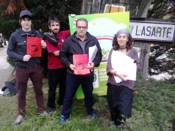 Más de 4.000 guipuzcoanos y guipuzcoanas han presentado recursos contra el permiso medioambiental de la incineradora