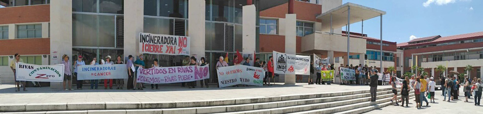 Gipuzkoa en Rivas, contra la incineración