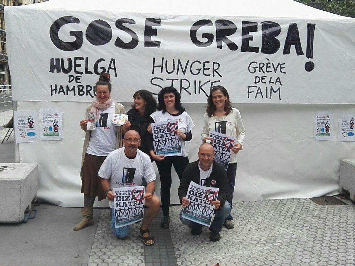 16 de junio, tercer dia de la huelga de hambre en contra de la incineradora