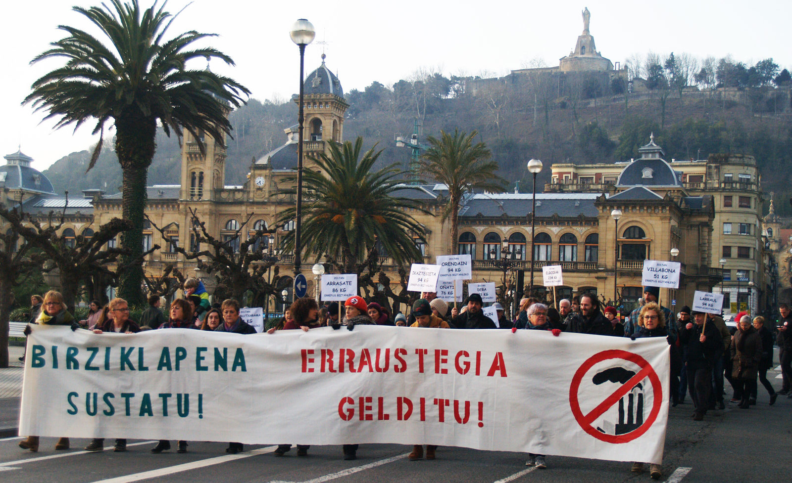 Estamos recogiendo adhesiones para la manifestacion del 25 de marzo