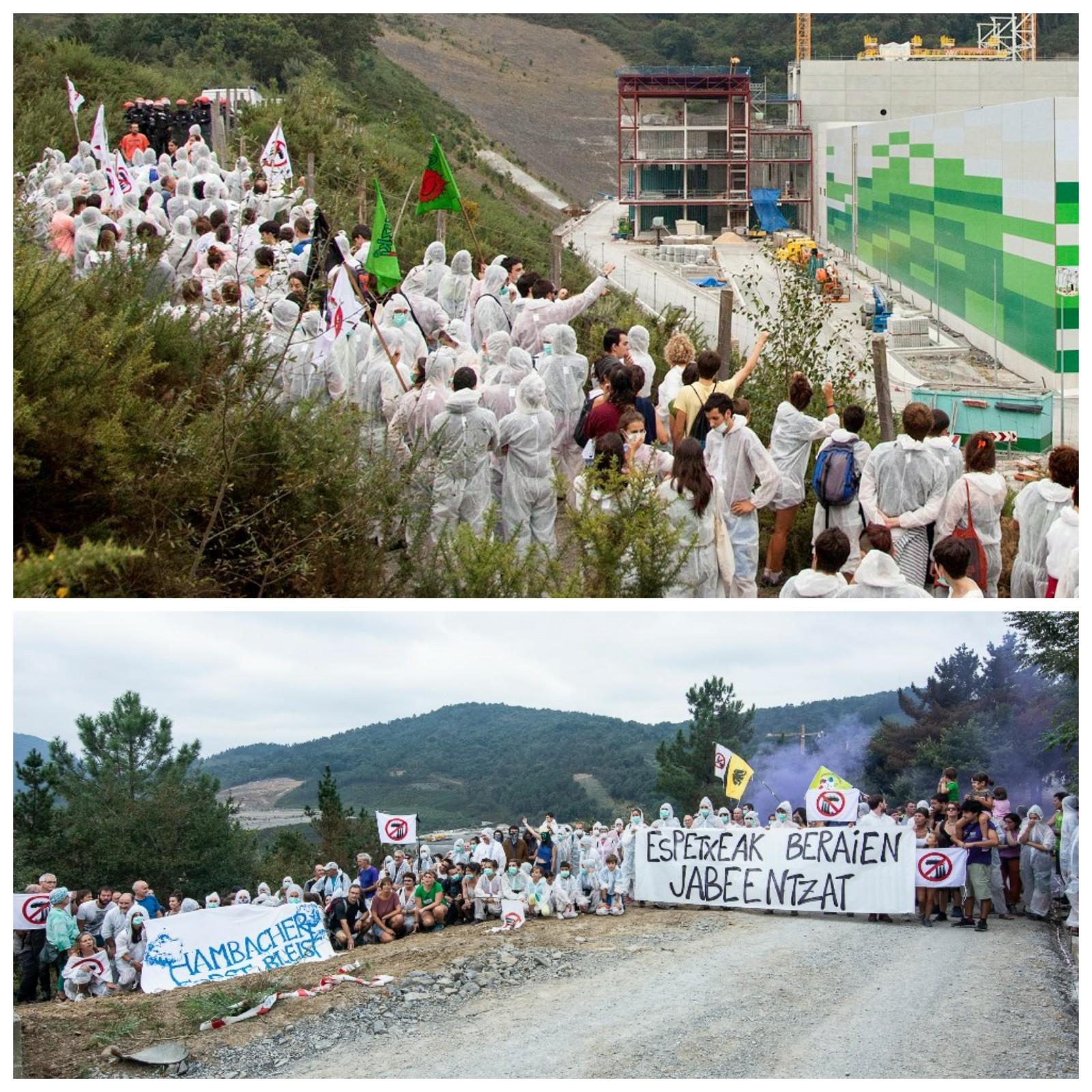 Nota de prensa ante los acontecimientos del 23 de septiembre en Zubieta