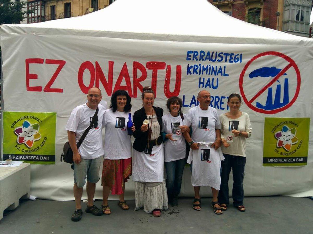17 de junio, cuarto dia de la huelga de hambre en contra de la incineradora