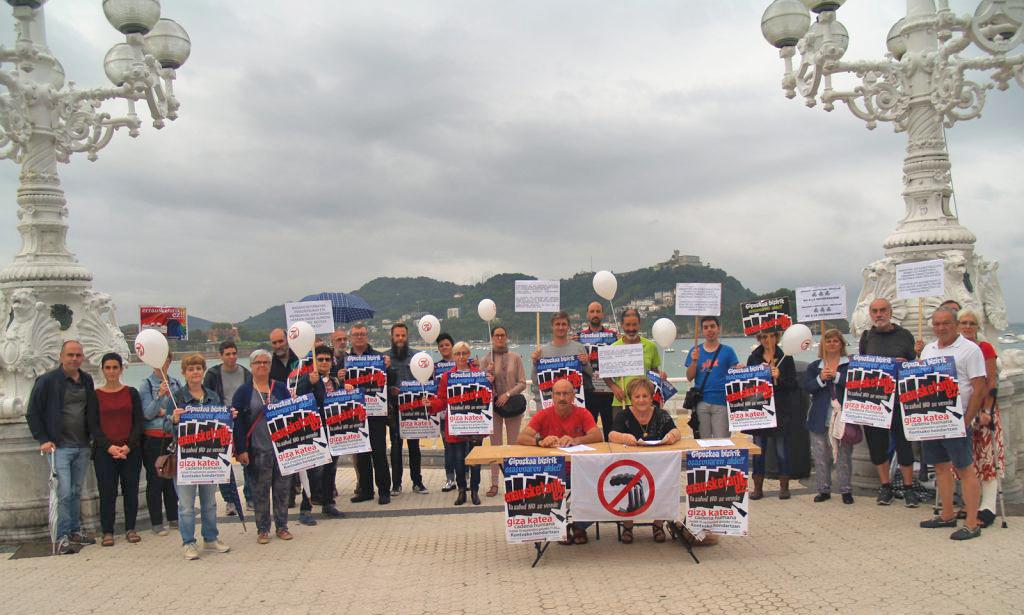 El 10 de septiembre cadena humana a favor de la salud y en contra de la incineradora en la playa de la Kontxa