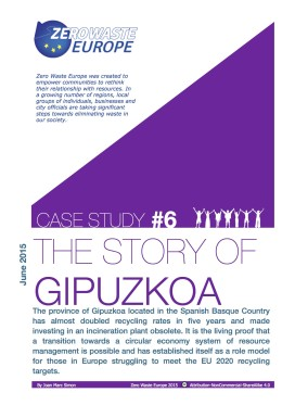New case study: The story of Gipuzkoa, the fastest transition towards Zero Waste in Europe