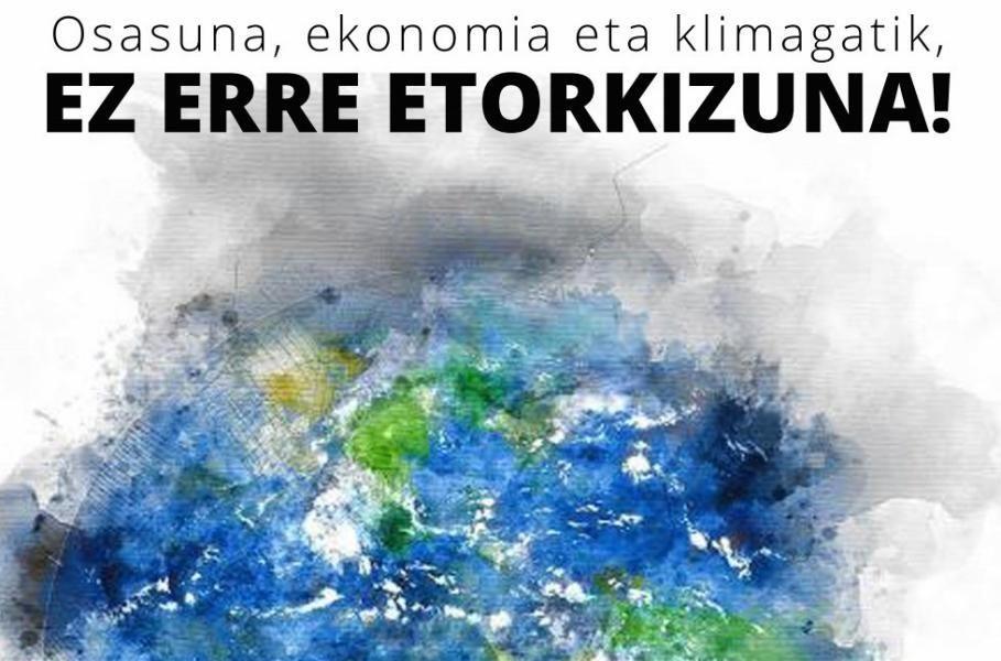 'Ez  erre  etorkizuna'  manifestazioa  otsailaren  29an